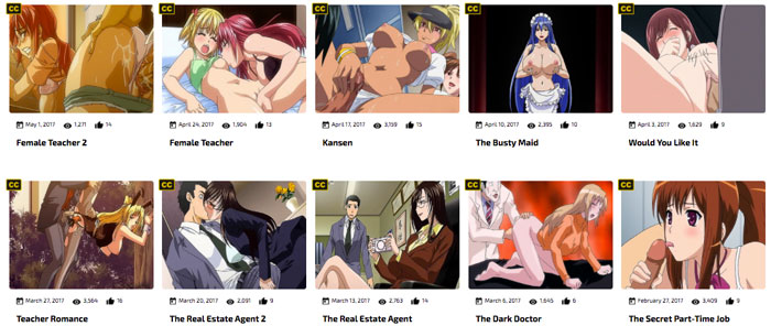 hentaipros is the top cartoon porn site offering awesome porn movies